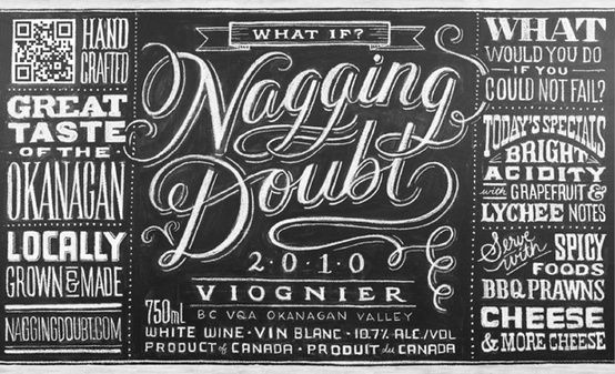 What is the NAGGING DOUBT font please?