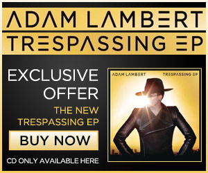 I Need To Find This Font, Adam Lambert's Trespassing EP