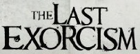 The Last Exorcism Font