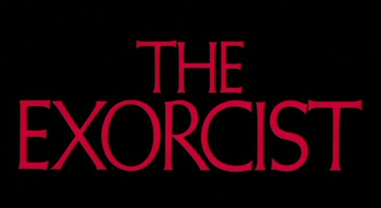 """The Exorcist"" font"