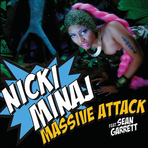 Nicki Minaj Massive Attack Font ????