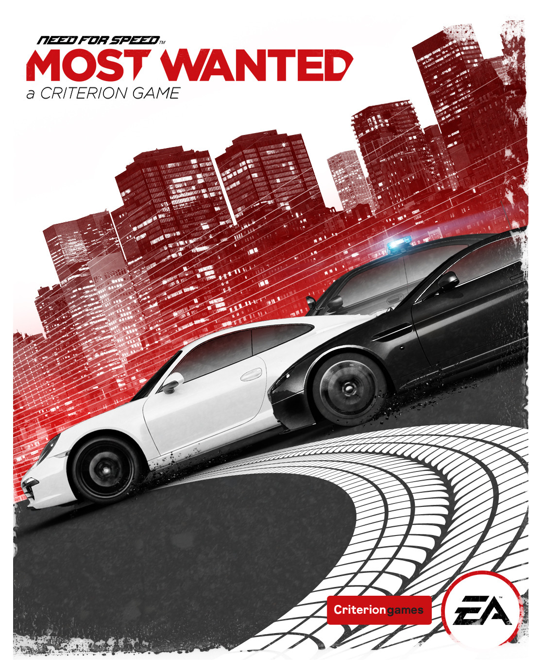 Most Wanted & Criterion font