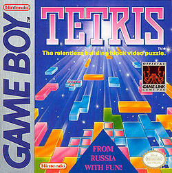 Tetris (game boy game's cover)