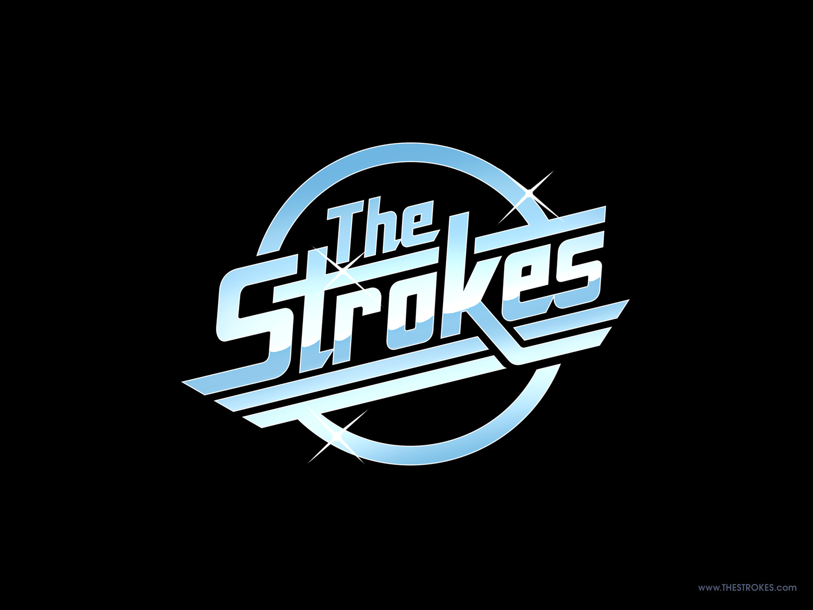 Someone please tell me what is The Strokes font?