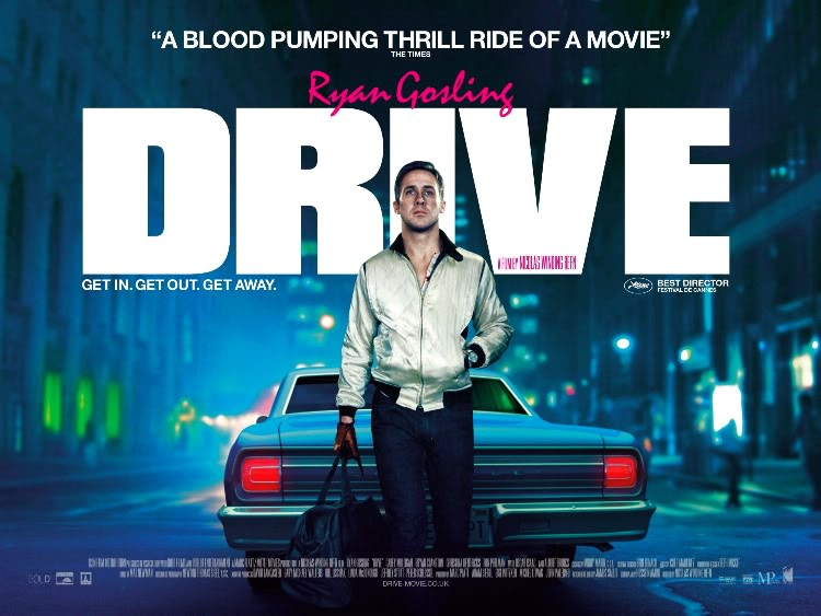 Drive Film Poster Font