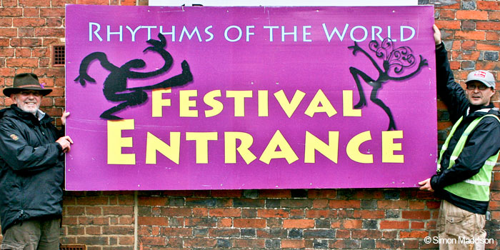 Rhythms of the World font