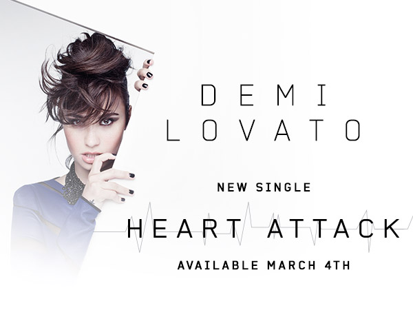 Demi Lovato Heart Attack Font?
