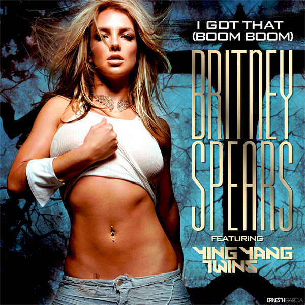 Britney Spears & I Got That Boom Boom Font Pls