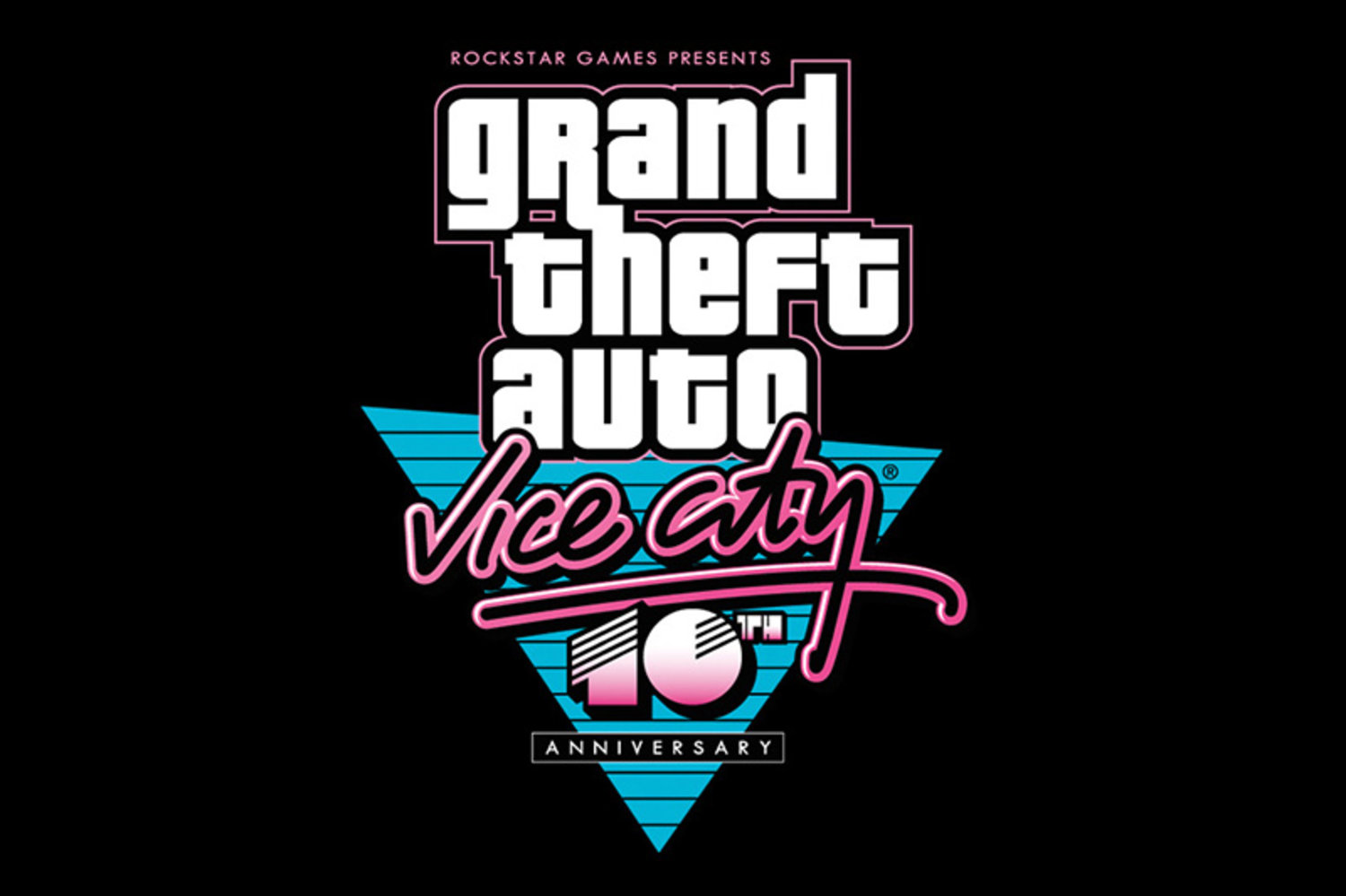 Vice City Anniversay font?