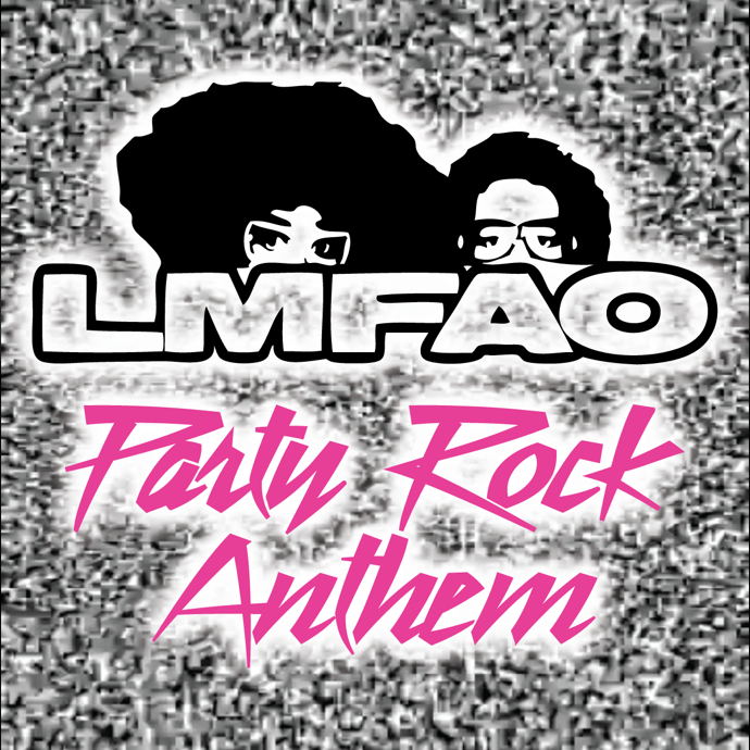 Party  Rock Letters