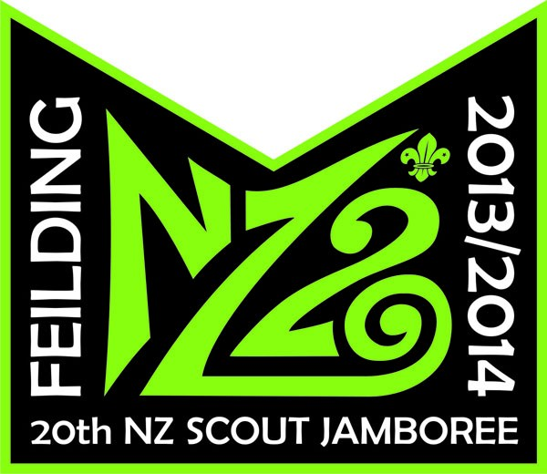 20th NZ NATIONAL JAMBOREE / 2013/2014 / FEILDING / Font ?