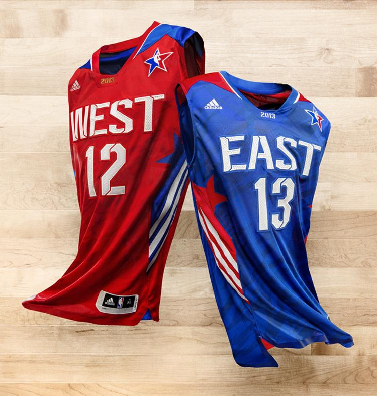 NBA All Star East & West.