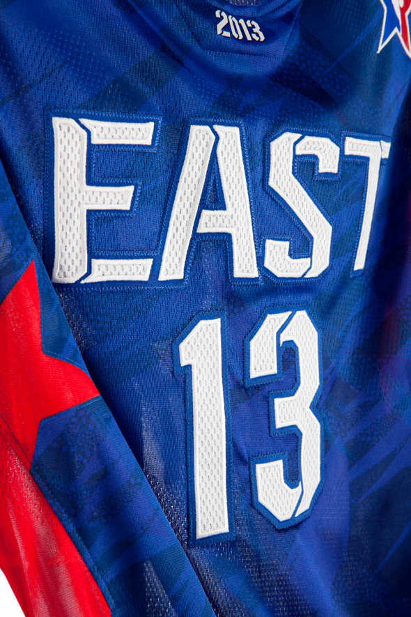 NBA All Star Jerseys Font