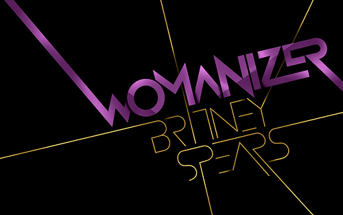 Britney Spears font.
