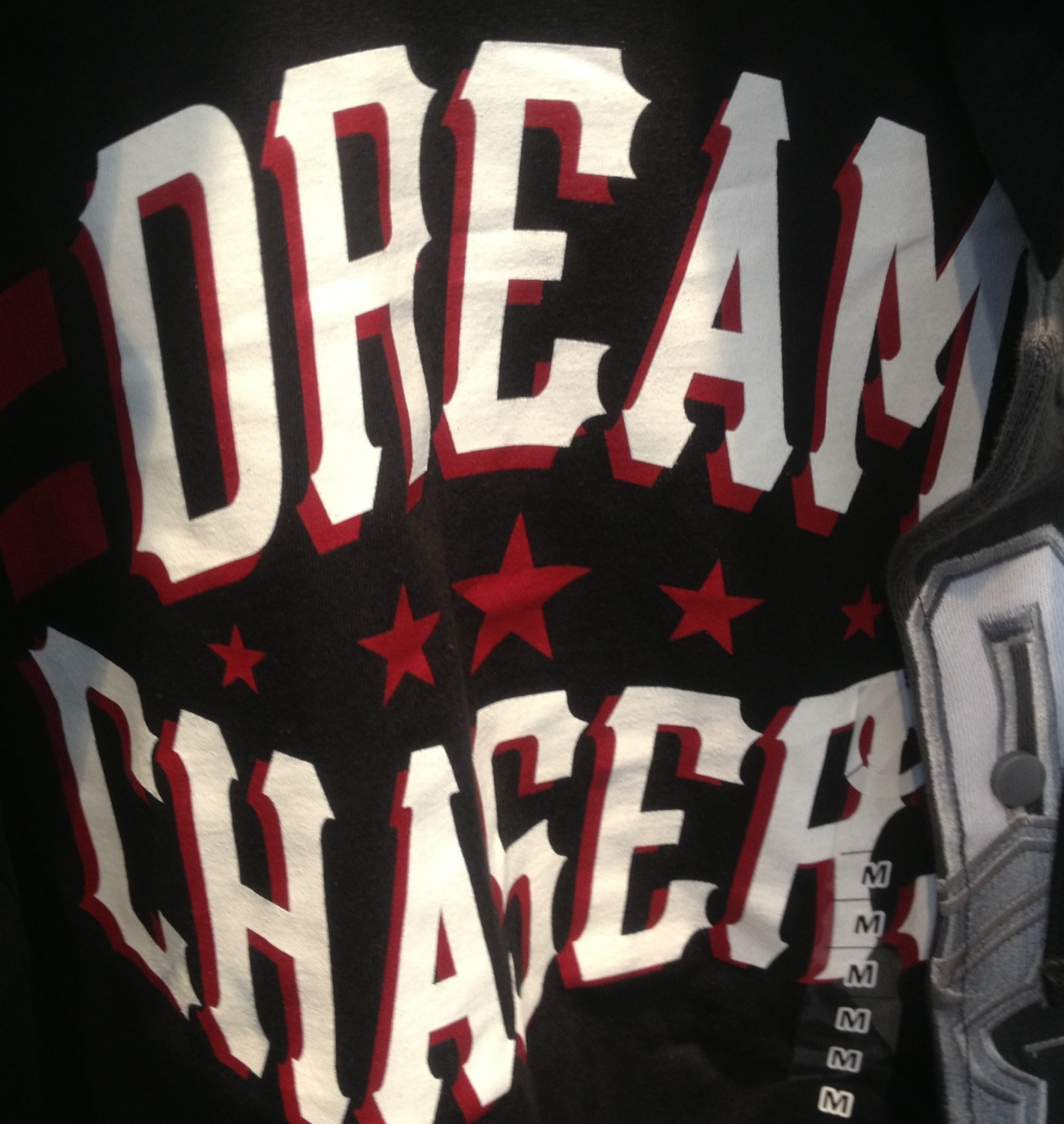 "Font of ""Dream Chasers"""