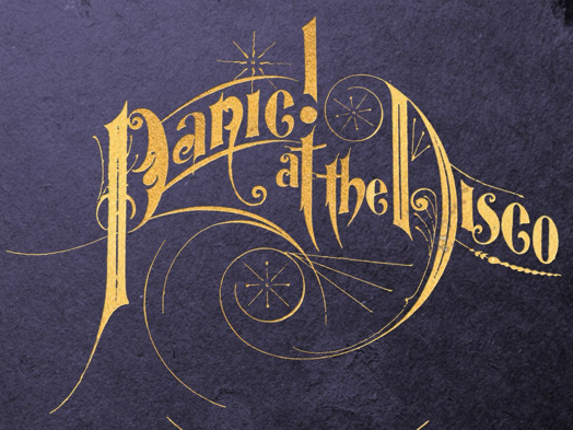 Panic! at the Disco font?