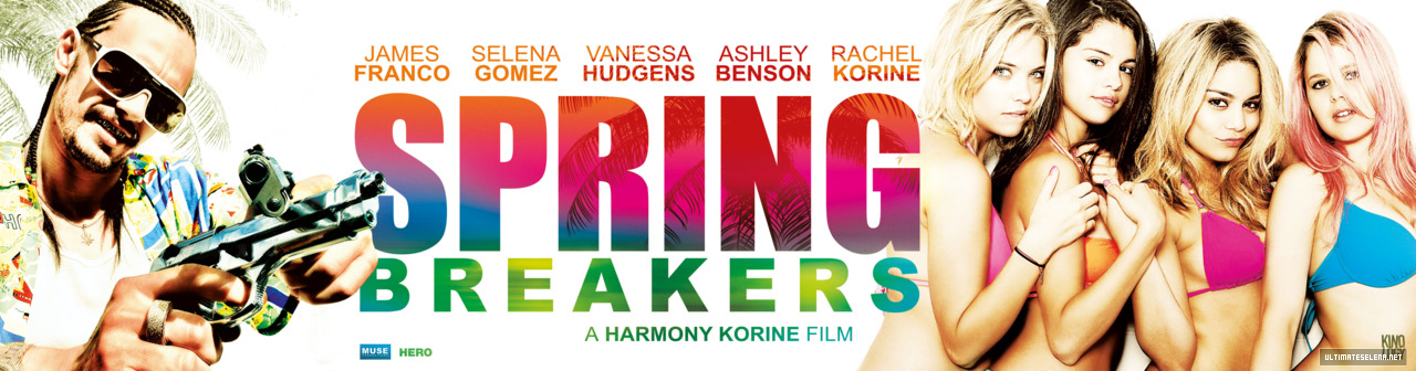 Spring Breakers font