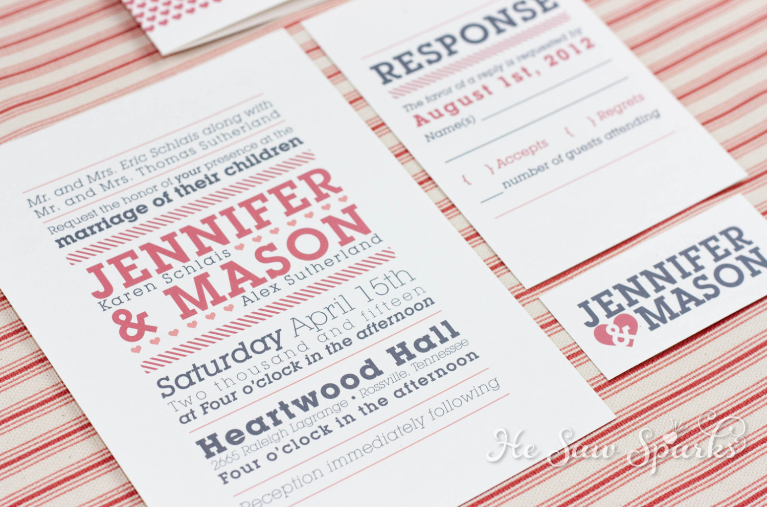 what font's are these on this invitation? thank you.