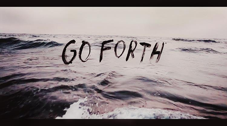 "Name of the font ""go forth"""