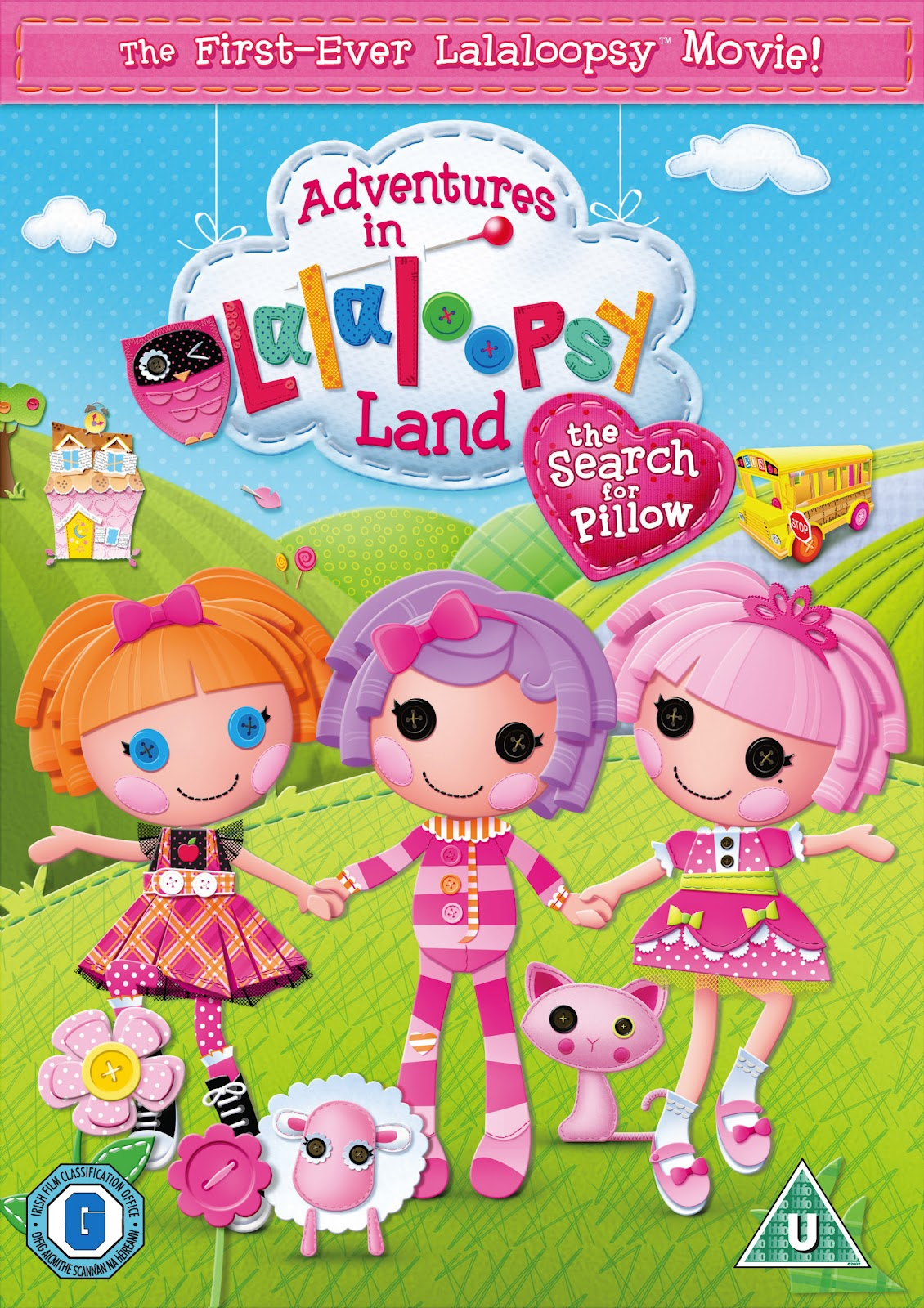 Fonts used in Lalaloopsy
