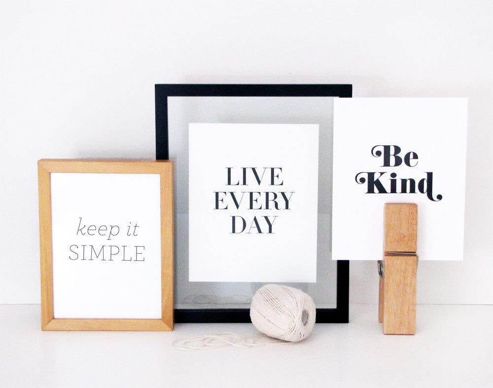 What is the 'be kind' font?