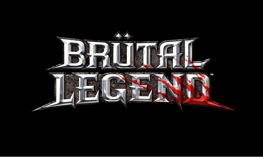What is the font used in the title of Brutal Legend?