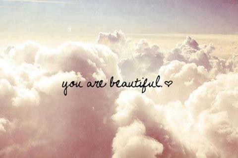"""you are beautiful"" font"
