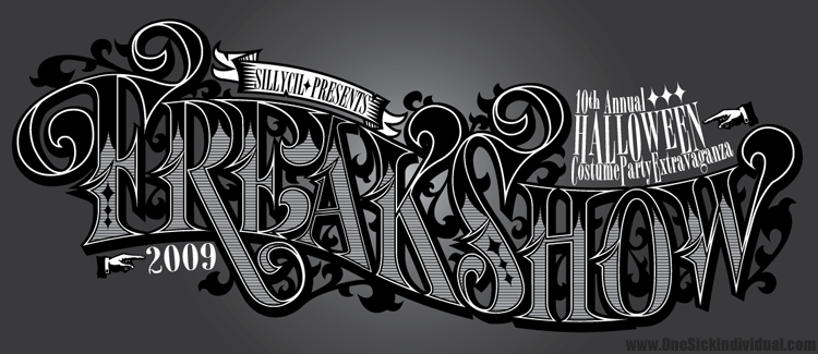 Freakshow Logo, is this a font?