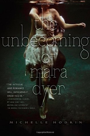 The Unbecoming of Mara Dyer font?