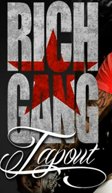 Tap Out and Rich Gang Font