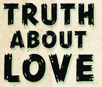 The Truth About Love by Pink font.