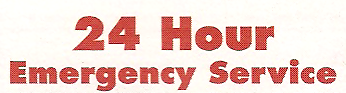 """24 Hour Emergency Service"" Font"