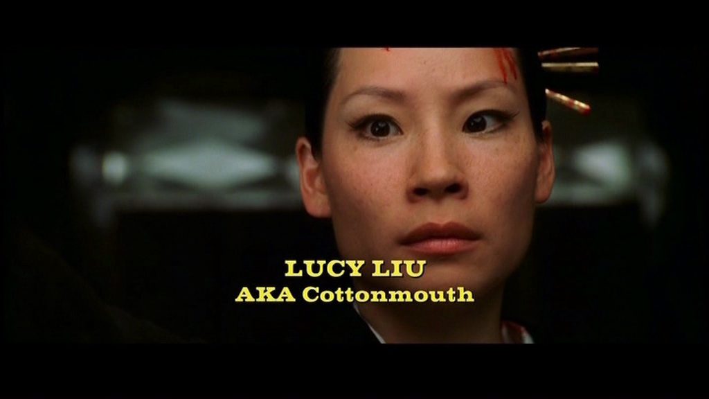 Font from Kill Bill??