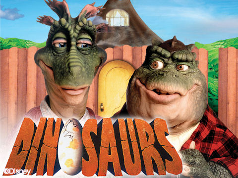Is there a font that matches the Disney show DINOSAURS?