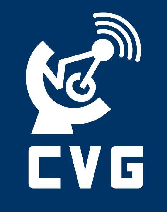 "What is the font of ""CVG"""