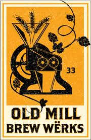OLD MILL BREW W�RKS font