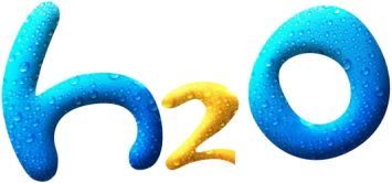 "Please, font of the logo of ""h2o"""