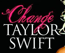 Taylor Swift Change SINGLE COVER FONT!!!!