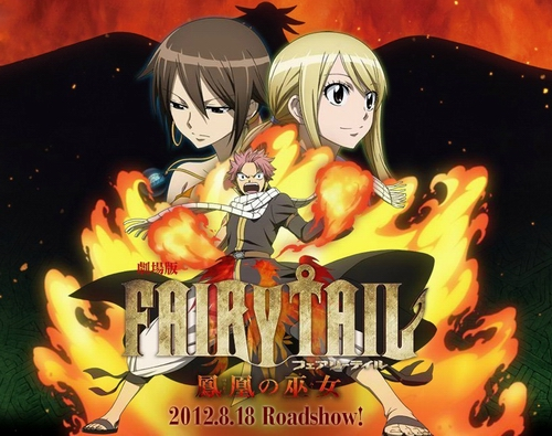 fairy tail font?