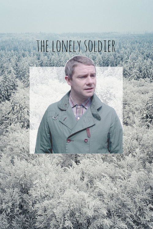 'The lonely soldier' font