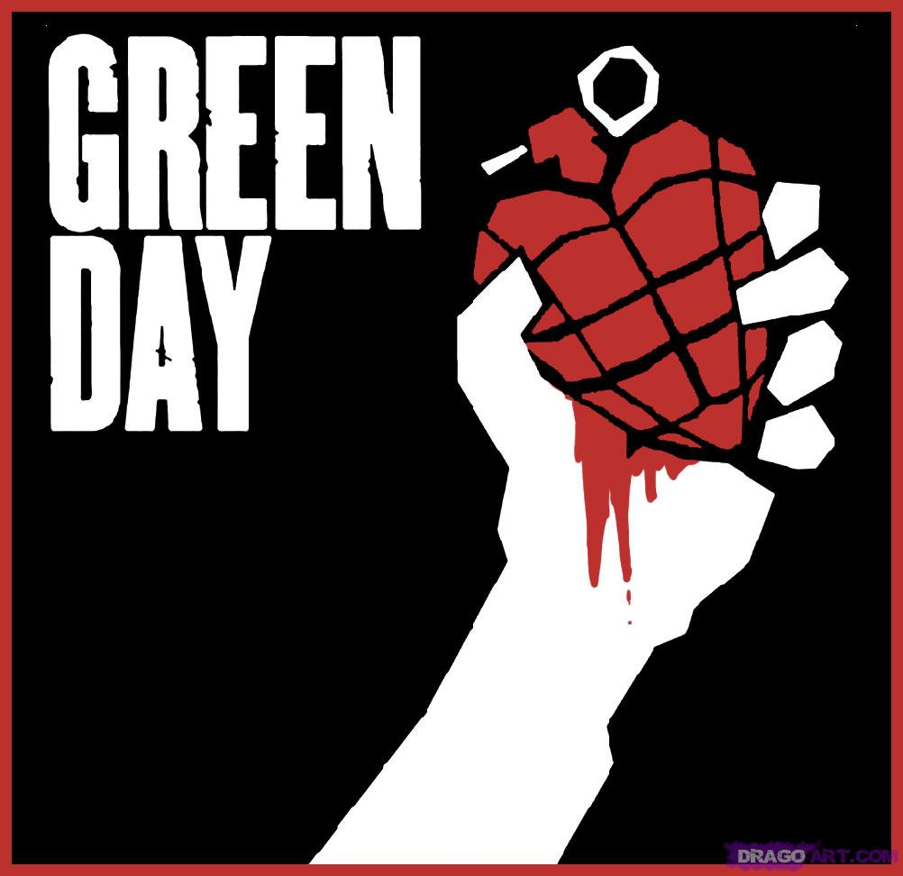 "Font of ""Green Day"""