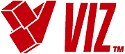 what font is this for the viz logo?