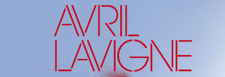 What's this font says ''Avril Lavigne''?