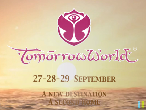 I'm searching for the font of this Tomorrowworld picture '27-28-29 SEPTEMBER A NEW DESTINATION A SECOND HOME' !! :))