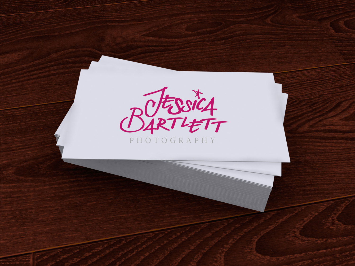 What font is JESSICA BARTLETT?