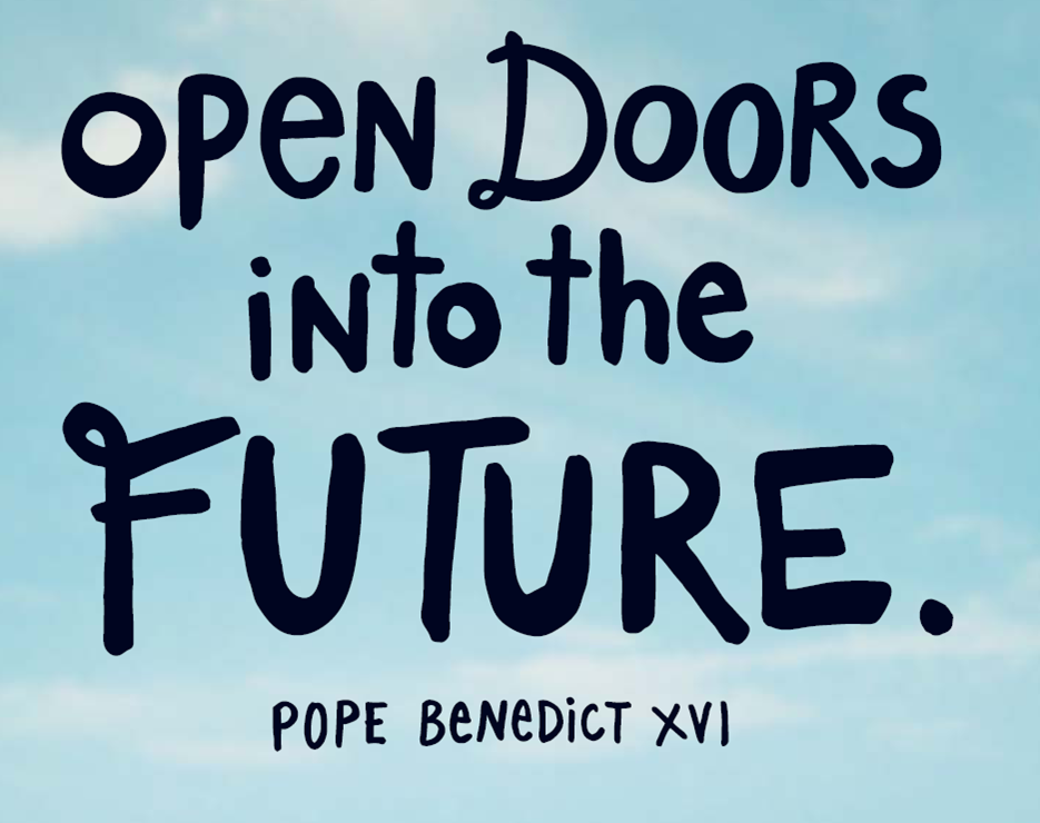 Caritas open doors into the future
