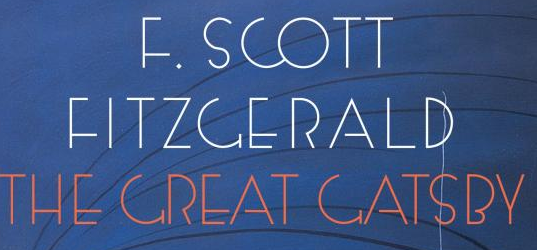 The Great Gatsby - Book font