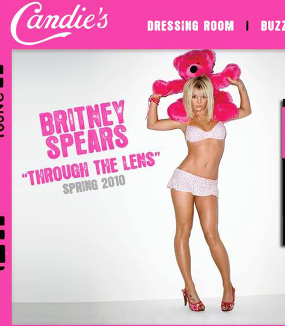 Britney Through The Lens font?