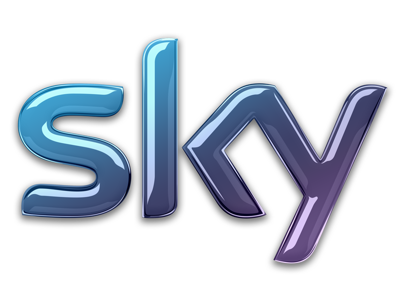 Sky TV new logo