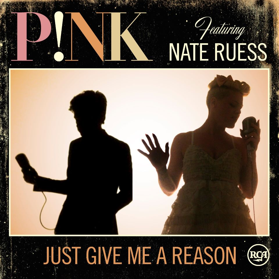 font please (NATE RUESS) and (JUST GIVE ME A REASON)